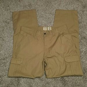 Red Head mens size 36 X 34 cargo pants tan